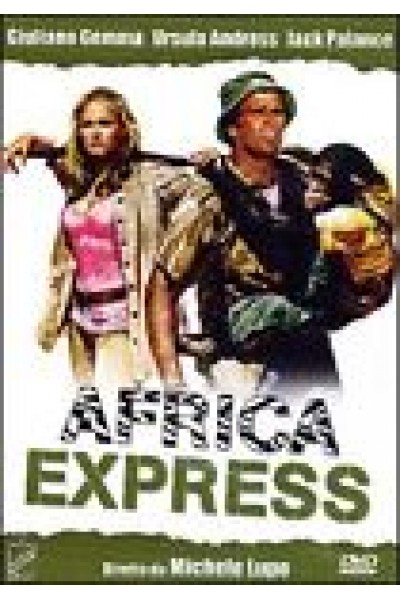 AFRICA EXPRESS - DVD NUOVO