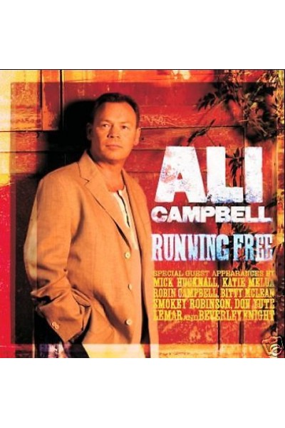 ALI CAMPBELL - RUNNING FREE -  CD NUOVO!!!!