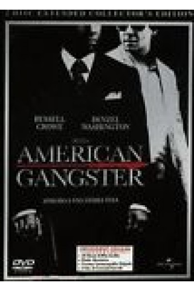 AMERICAN GANGSTER COLLECTOR (METAL/STEEL) 2 DVD NUOVO