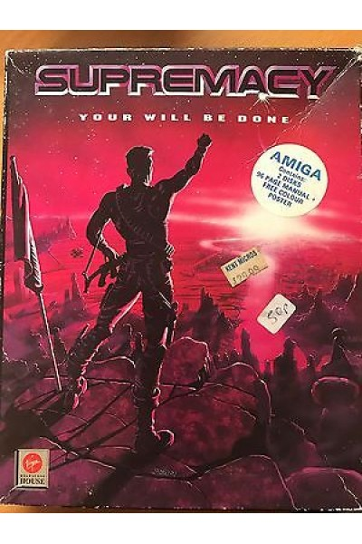 AMIGA FLOPPY DISC SUPREMACY YOUR WILL BE DONE COMPLETO