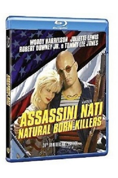 ASSASSINI NATI NATURAL BORN KILLERS WOODY HARRELSON BLU RAY