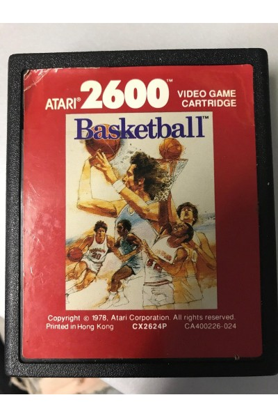 ATARI 2600 BASKETBALL LOOSE SOLO CARTUCCIA