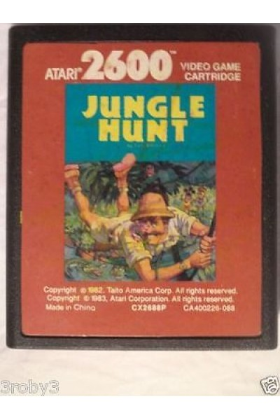 ATARI 2600 JUNGLE HUNT VERSIONE EUROPEA SOLO CARTUCCIA