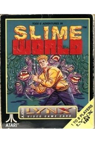 ATARI LYNX SLIME WORLD PAL COMPLETO