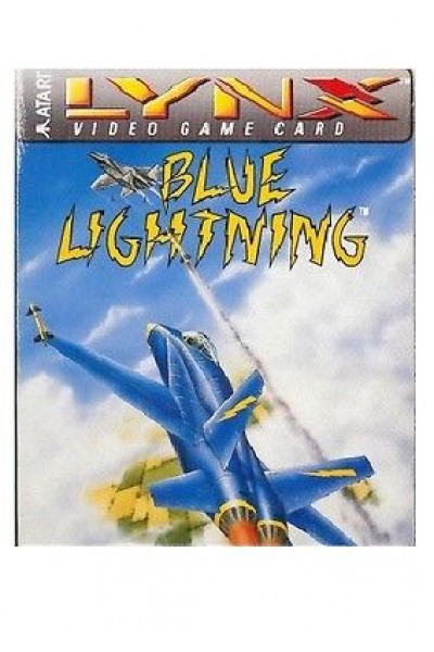 ATARI LYNX VIDEO GAME CARD BLUE LIGHTNING NUOVO SIGILLATO
