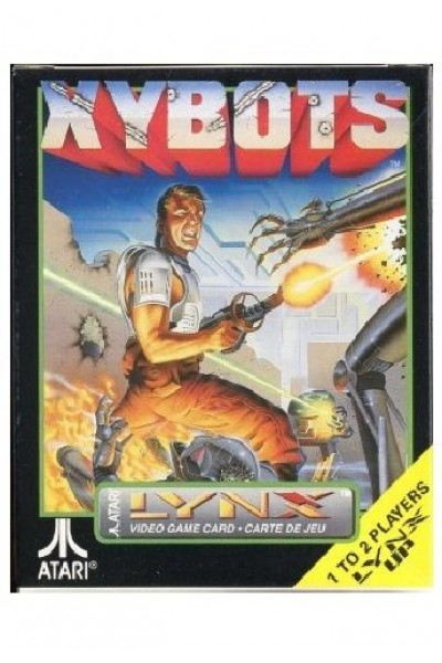 ATARI LYNX VIDEO GAME CARD XYBOTS NUOVO SIGILLATO