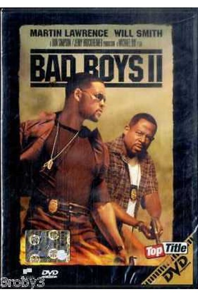 BAD BOYS II WILL SMITH DVD NUOVO SIGILLATO VERSIONE EDITORIALE