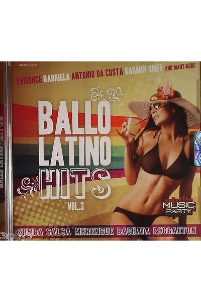 BALLO LATINO HITS VOL 3 CD NUOVO SIGILLATO