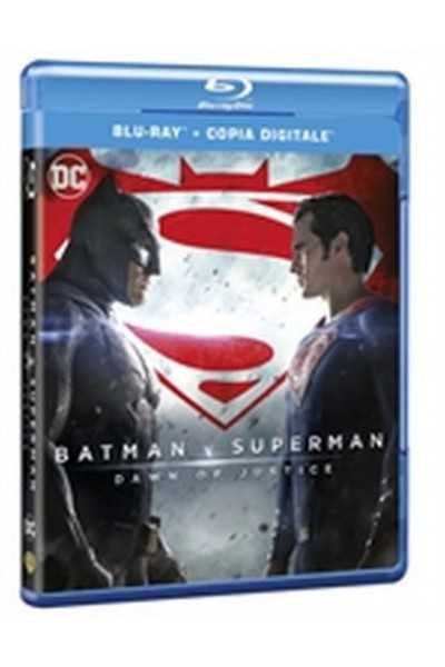 BATMAN VS SUPERMAN DAWN OF JUSTICE BLU RAY NUOVO SIGILLATO