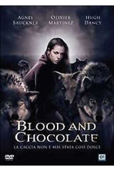 BLOOD AND CHOCOLATE AGNES BRUCKNER OLIVER MARTINEZ DVD NUOVO SIGILLATO