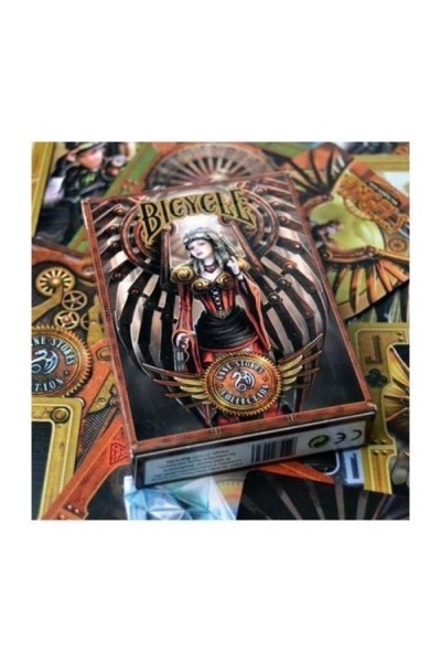 CARTE DA GIOCO BICYCLE ANNE STOKES NUOVE SIGILLATE