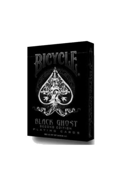 CARTE DA GIOCO BICYCLE BALCK GHOST NUOVE SIGILLATE