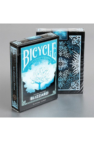 CARTE DA GIOCO BICYCLE BLIZZARD NUOVE SIGILLATE