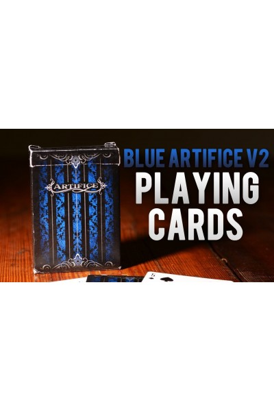 CARTE DA GIOCO BICYCLE BLUE ARTIFICE NUOVE SIGILLATE