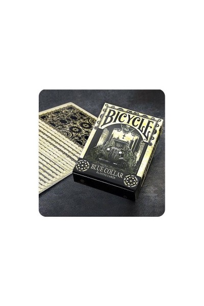 CARTE DA GIOCO BICYCLE BLUE COLLAR NUOVE SIGILLATE