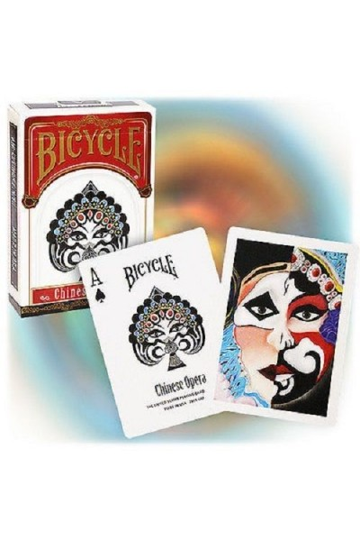 CARTE DA GIOCO BICYCLE CHINESE OPERA NUOVE SIGILLATE