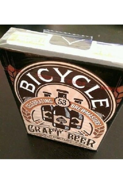 CARTE DA GIOCO BICYCLE CRAFT BEER NUOVE SIGILLATE