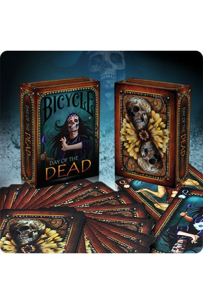 CARTE DA GIOCO BICYCLE DAY OF THE DEAD NUOVE SIGILLATE