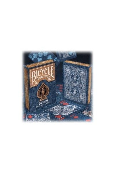 CARTE DA GIOCO BICYCLE DENIM NUOVE SIGILLATE