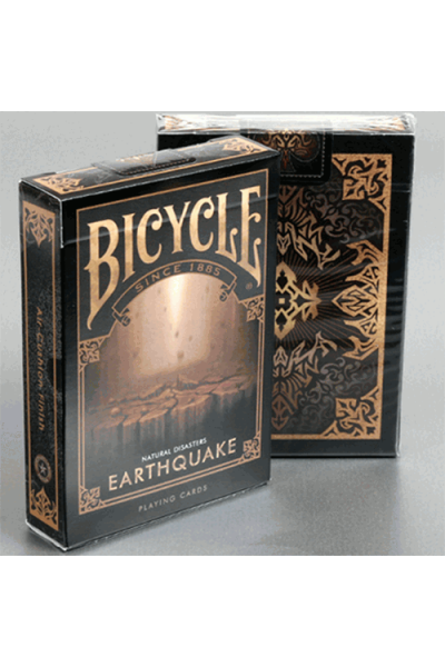 CARTE DA GIOCO BICYCLE EARTHQUAKE NUOVE SIGILLATE