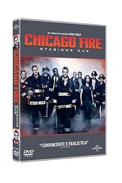CHICAGO FIRE STAGIONE DUE 2 COFANETTO DVD