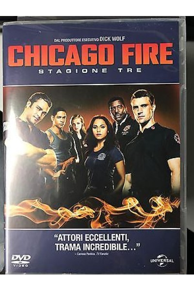 CHICAGO FIRE STAGIONE TRE 3 COFANETTO DVD