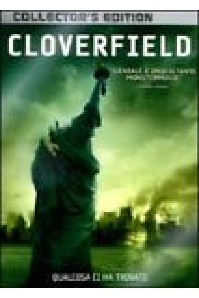 CLOVERFIELD COLLECTOR'S (METAL/STEEL) 2 DVD NUOVO