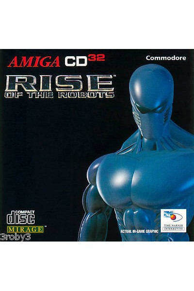 COMMODORE AMIGA CD 32 RISE OF THE ROBOTS INGLESE SENZA MANUALE