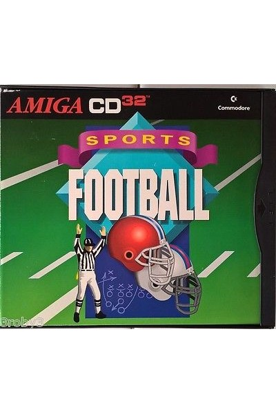 COMMODORE AMIGA CD 32 SPORTS FOOTBALL INGLESE COMPLETO