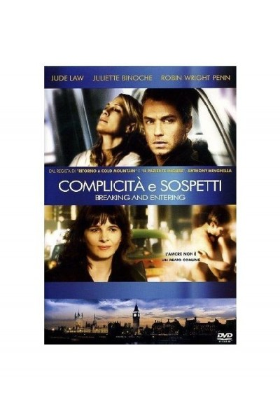 COMPLICITA' E SOSPETTI, BREAKING AND ENTERING- DVD USATO