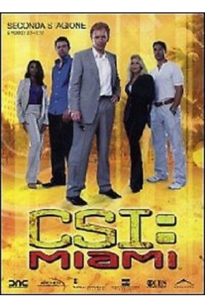 CSI C.S.I. MIAMI SECONDA STAGIONE EPISODI 2.1 - 2.12 COFANETTO 3 DVD