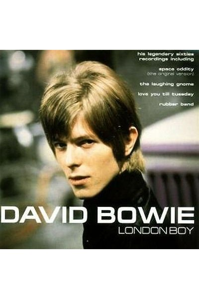 DAVID BOWIE, LONDON BOY- CD MUSICALE