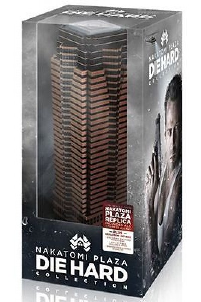 DIE HARD NAKATOMI PLAZA COLLECTION BLU RAY AMERICANA DA COLLEZIONE