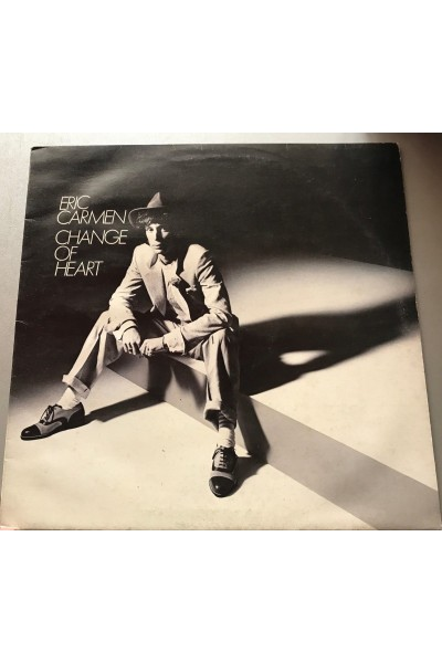 ERIC CARMEN CHANGE OF HEART VINILE 33 GIRI LP @E