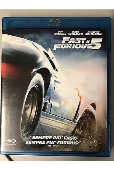FAST AND FURIOUS VIN DIESEL BLU RAY
