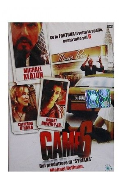 GAME 6 MICHAEL KEATON DVD