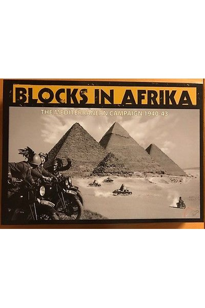 GAME GIOCO IN SCATOLA BLOCKS IN AFRIKA THE MEDITERRANEAN CAMPAIGN 1940-43 NEW