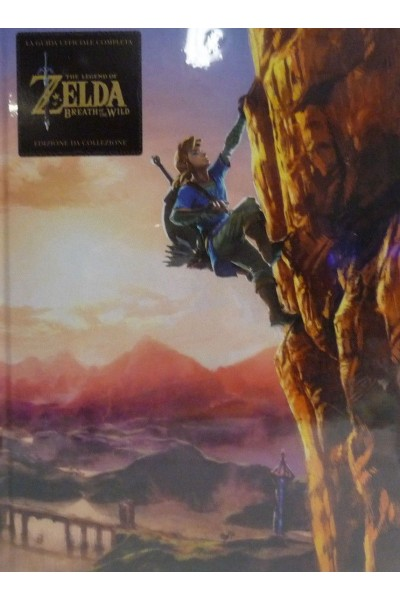 GUIDA ZELDA BREATH OF THE WILD COLLECTOR EDITION EDIZIONE COLLEZIONE ITALIANA