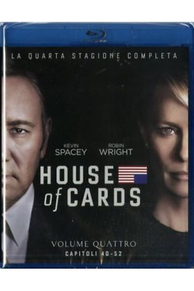 HOUSE OF CARDS STAGIONE QUARTA 4 KEVIN SPACEY BLU-RAY