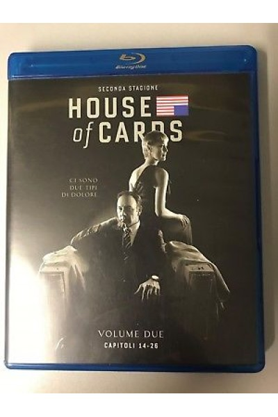 HOUSE OF CARDS STAGIONE SECONDA 2 KEVIN SPACEY BLU-RAY