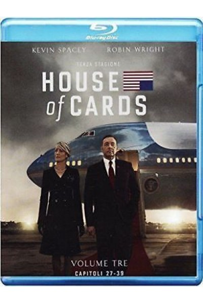 HOUSE OF CARDS STAGIONE TERZA 3 KEVIN SPACEY BLU-RAY