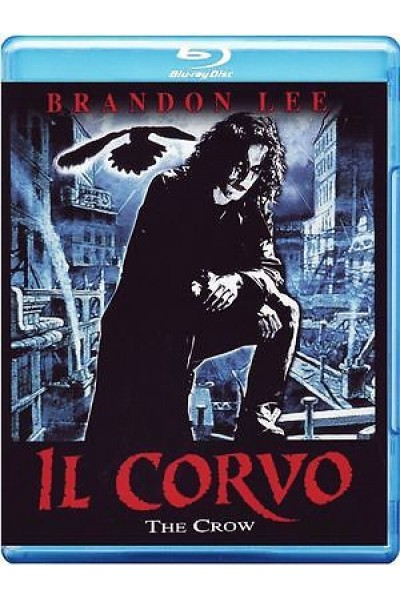 IL CORVO THE CROW BRANDON LEE BLU RAY