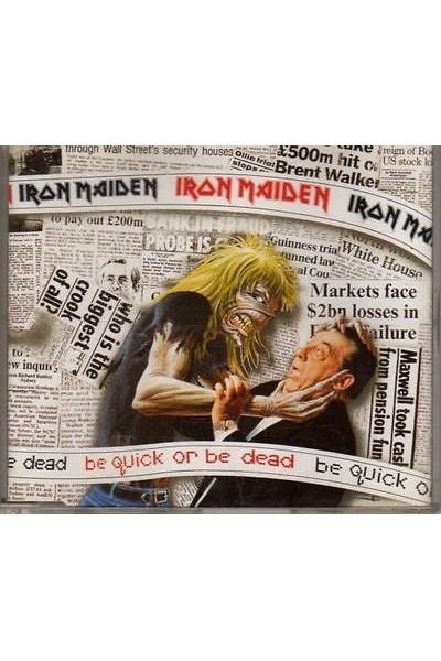 IRON MAIDEN BE QUICK OR BE DEAD 45 GIRI 7'' EMI 229