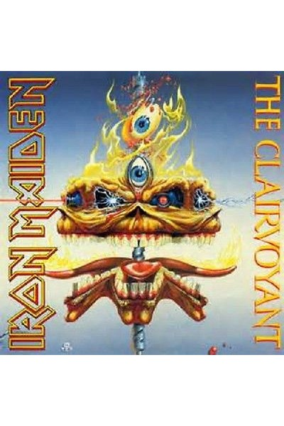 IRON MAIDEN THE CLAIRVOYANT 45 GIRI 7'' EMS 79