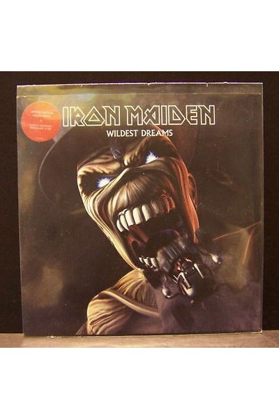 IRON MAIDEN WILDEST DREAMS LIMITED EDITION GREEN VINYL 45 GIRI 7''