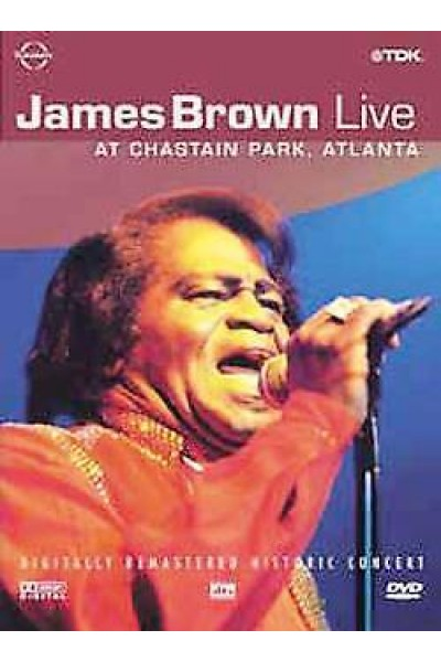 JAMES BROWN LIVE AT CHASTAIN PARK, ATLANTA DVD NUOVO SIGILLATO