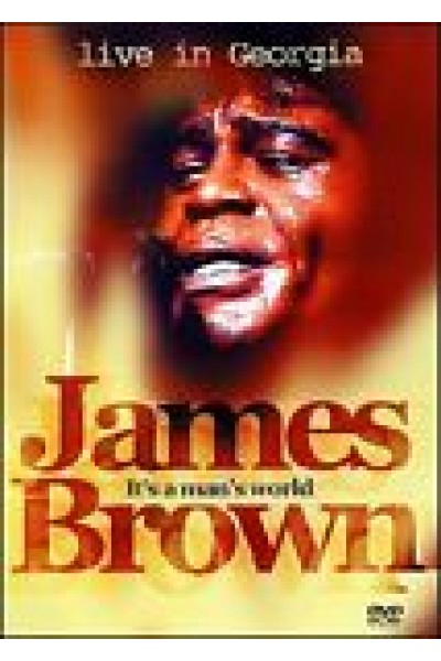 JAMES BROWN LIVE IN GEORGIA DVD NUOVO SIGILLATO