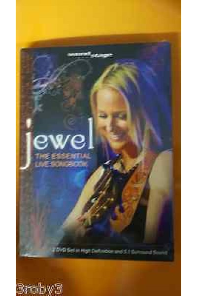 JEWEL-THE ESSENTIAL LIVE SONGBOOK( INGLESE)- DVD NUOVO SIGILLATO