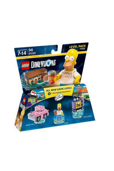LEGO DIMENSIONS LEVEL PACK I SIMSONS A SPRINGFIELD ADVENTURE