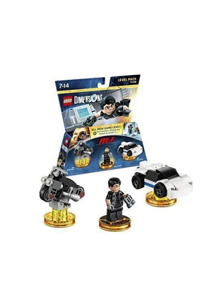 LEGO DIMENSIONS LEVEL PACK MISSION IMPOSSIBLE NUOVO